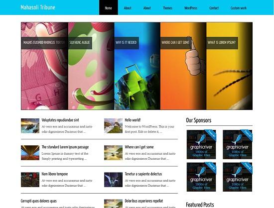 25 Free High Quality WordPress Themes 14