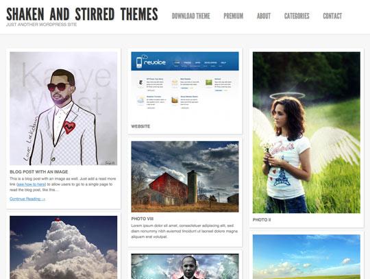 25 Free High Quality WordPress Themes 23