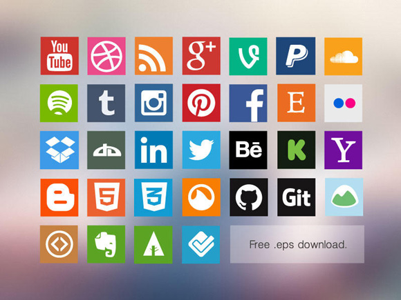30 Best Vector Icon Packs for Designers 1