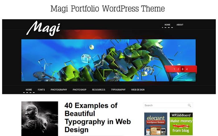 20 Free and Premium Responsive Wordpress Theme 5