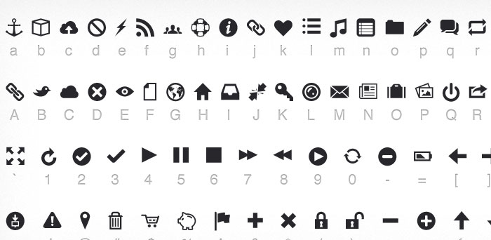 15 Useful Free Icon Fonts for Designers 6