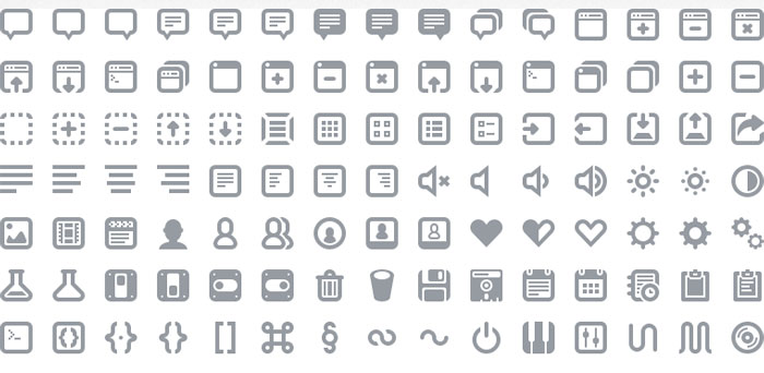 15 Useful Free Icon Fonts for Designers 7