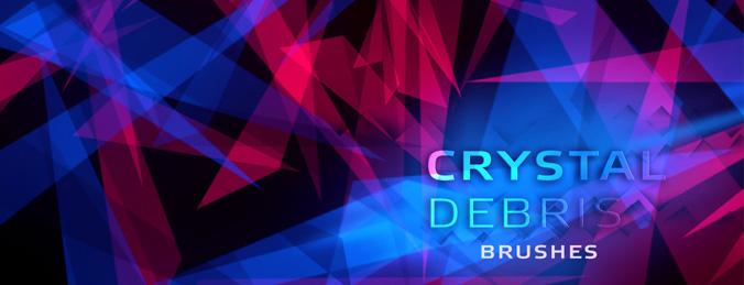 Crystal shape Brushes