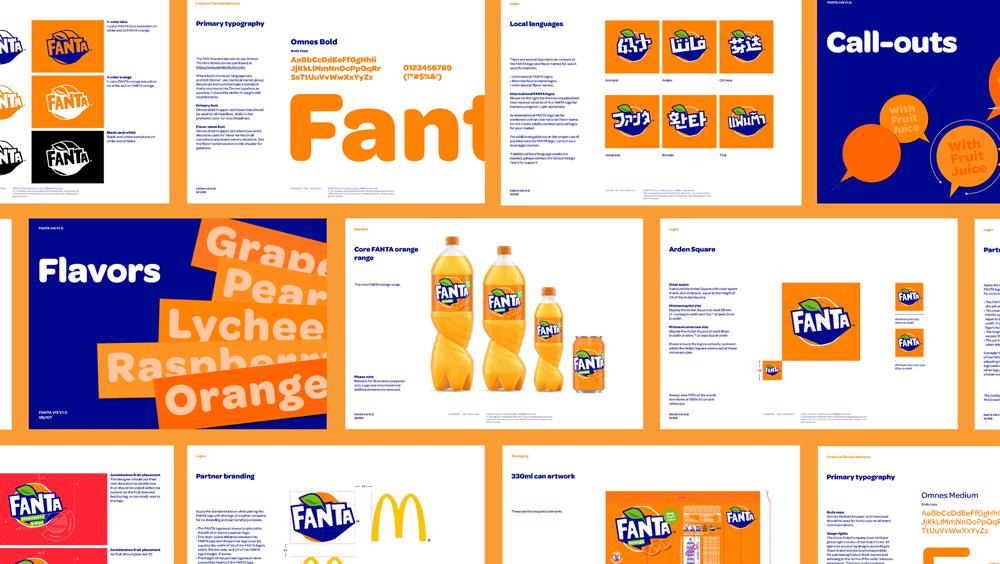 Fanta Branding Example