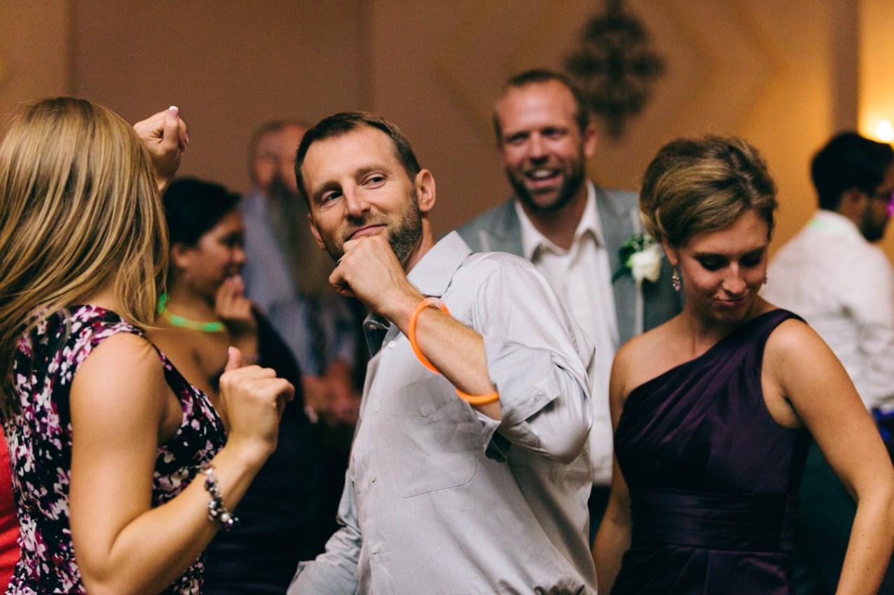 Getting down Renae & JC's Potomac Point Winery Wedding - Bonnie Sen Photography