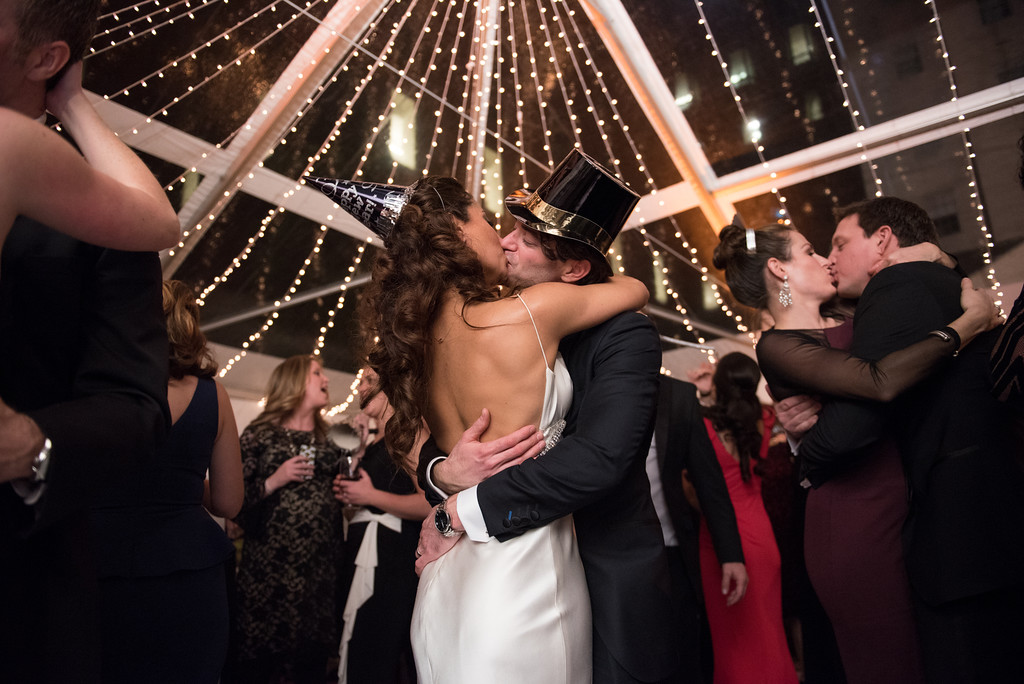 Watch: Nasim and Tripp's New Years Wedding at Decatur House