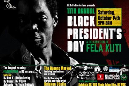 Black President's Day DC, Sat. 10/14