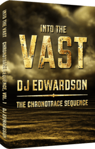 Into the Vast - Science Fiction Book Cover