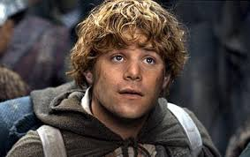 Samwise Gamgee, the cheerful hobbit
