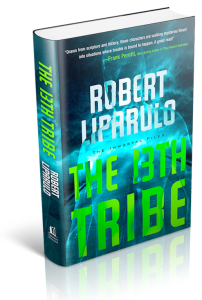 3D cover for 13th tribe by critically acclaimed author Robert Liparulo