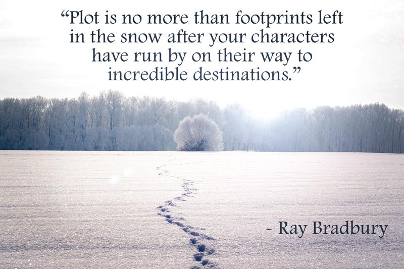 ray bradbury quote on plot