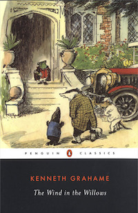 cover for wind in the willows by kenneth grahame