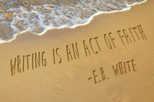 E.B. White Quote on Writing