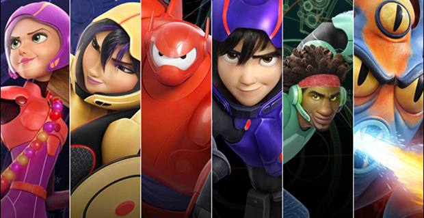 Big Hero 6 Cartoon Characters Names : Big hero review djedwardson