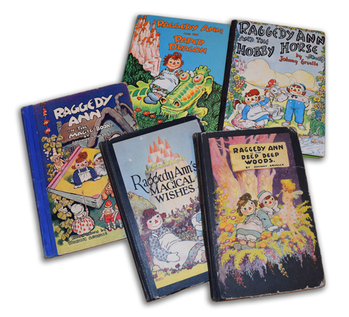 raggedy ann and andy books