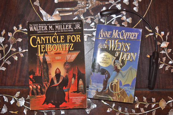 canticle for leibowitz - dragon riders of pern