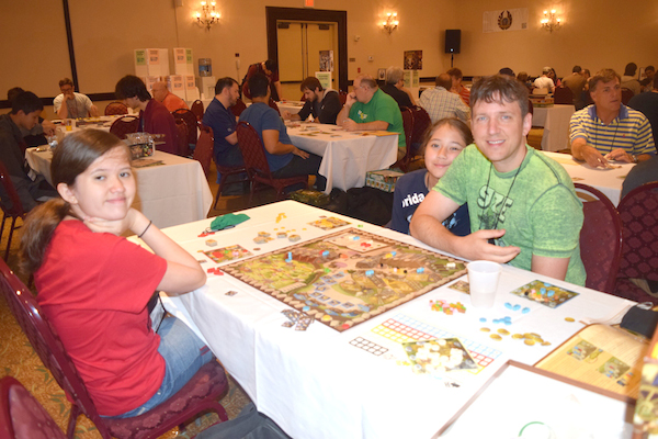 Playing The Village at Dicetower Con 2015