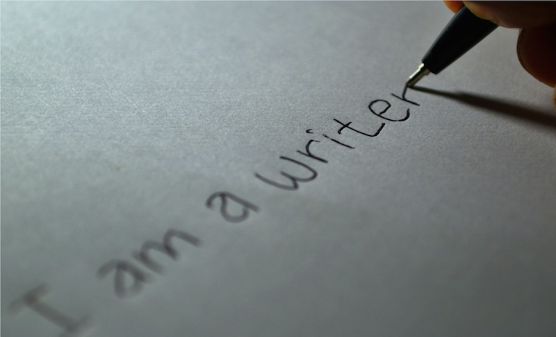 handwritten writer