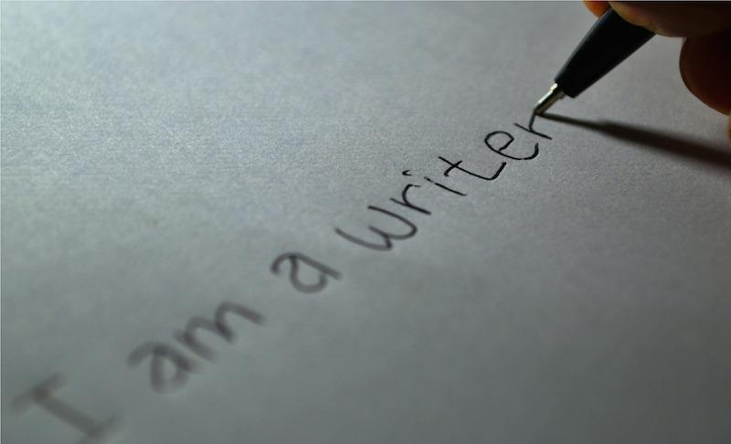 handwritten writer