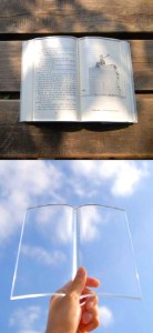 transparent book protector