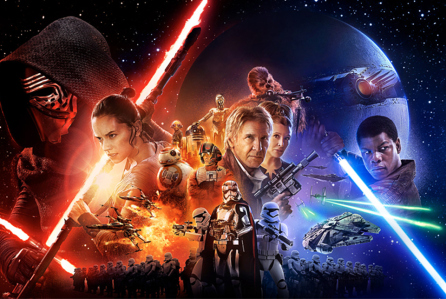 star wars force awakens movie poster