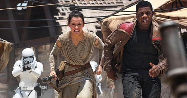 star wars force awakens rey finn
