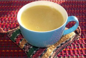 atol is a grain based drink served in Latin America