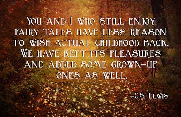 cs lewis fairy tale quote