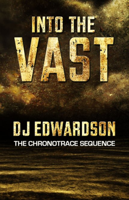 into the vast - science fiction book cover - dj edwardson