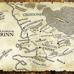 Map of Arinn from The Last Motley