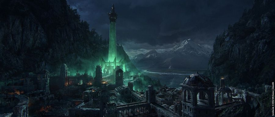 minas morgul and the epic hero battle