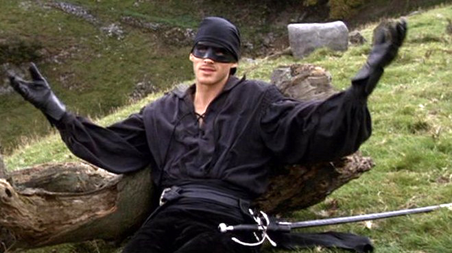 man in black westley princess bride epic hero