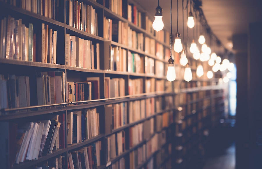 book shelf lights
