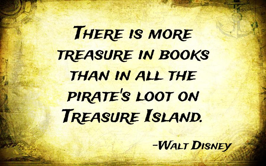 disney quote book treasure island