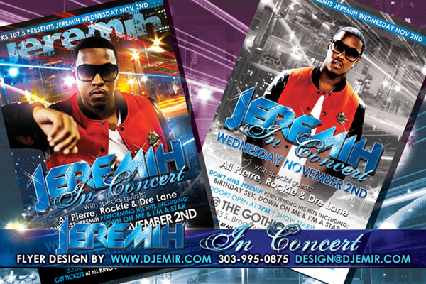 Amazing Nightclub Flyers