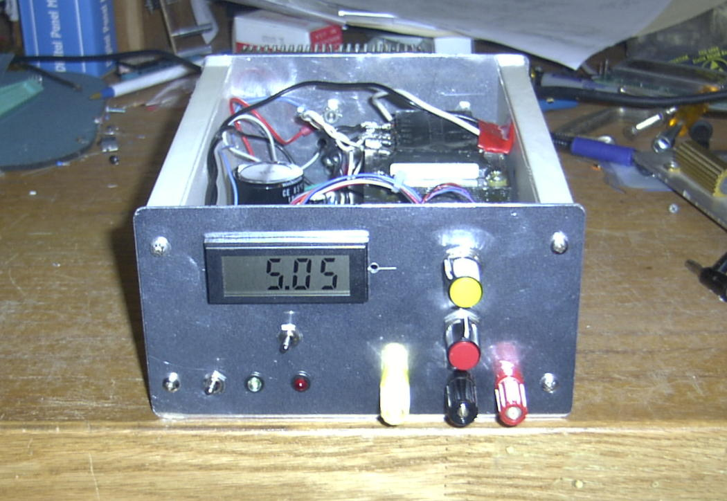 Amp Meter Wiring Diagram Resistor Power One Power Supply Hacker Page