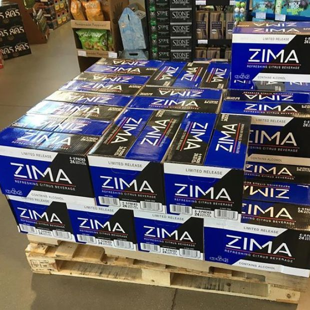 It's party time!  This should be enough. #zima