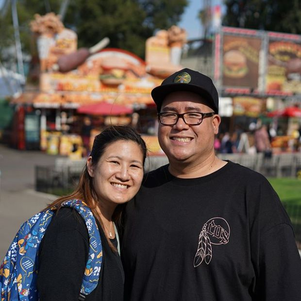 Fair fun today with my @tintin7117, and the lil' homie @vansfans.easonhe which was his first time ever going to a county Fair!