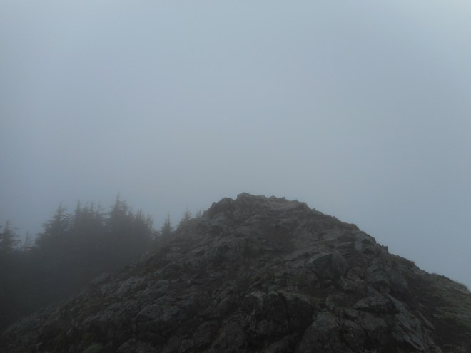 Teneriffe Summit - anticlimax today