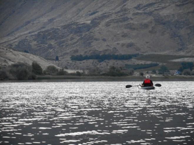 Using a kayak