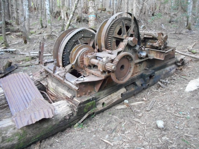 Old logging gear