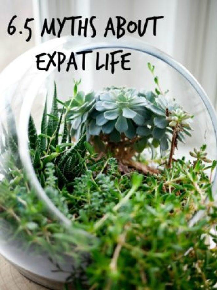 6.5 myths about expat life