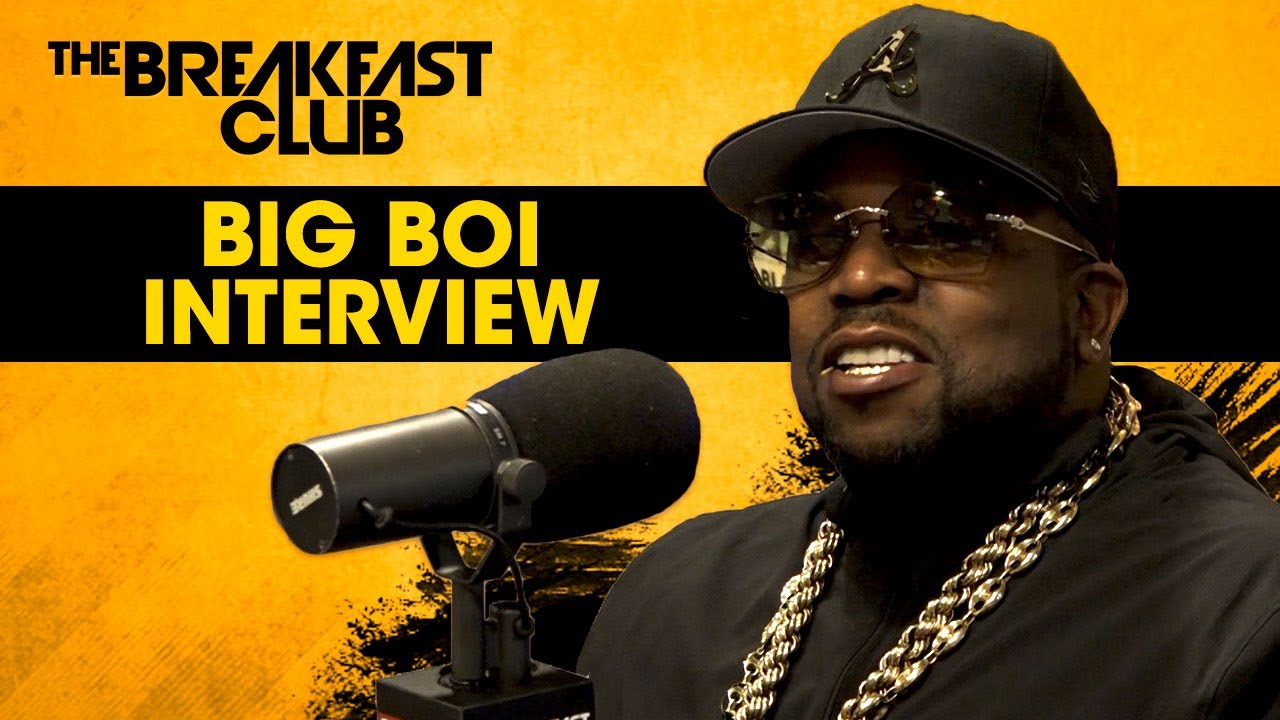 Big Boi On Keeping It Funky, Releasing New Music, Entrepreneurship & More on The Breakfast Club