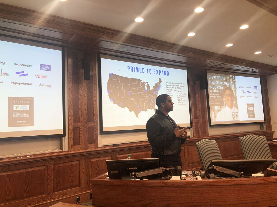 Ryan Wilson Shares with Dartmouth Students How a Jay-Z Tweet Motivated Him to Launch a Multi-Million Dollar Business Venture
