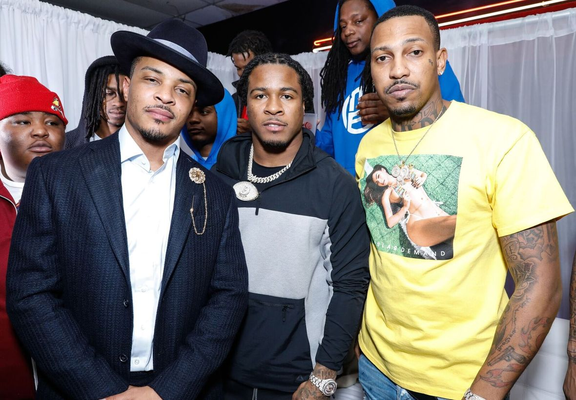 Chanel Iman, Alvin Kamara, Big Boi, Saquon Barkley and More attend T.I.'s Celebrity Skate Night in Atlanta