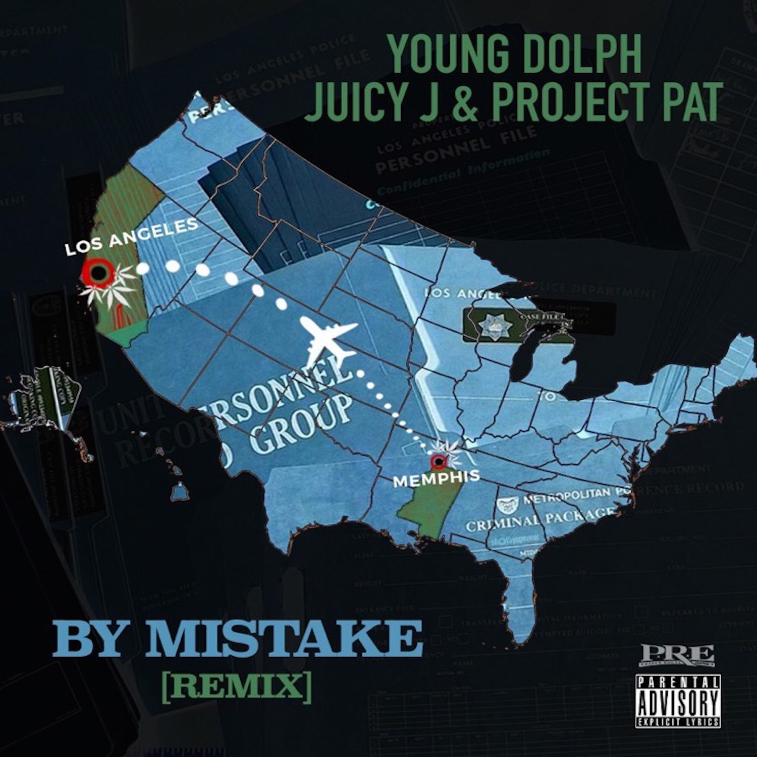 Young Dolph – By Mistake (Remix) (feat. Juicy J & Project Pat)