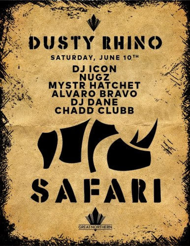 Dusty Rhino Safari