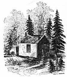 I denne hytta prøvde Thoreau etter beste evne å leve i pakt med de idealene han forfektet som tenker.