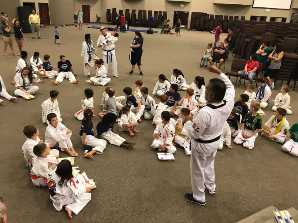 5 Star Review – Taekwondo Lock-in @ Richland Creek in Wake Forest, NC