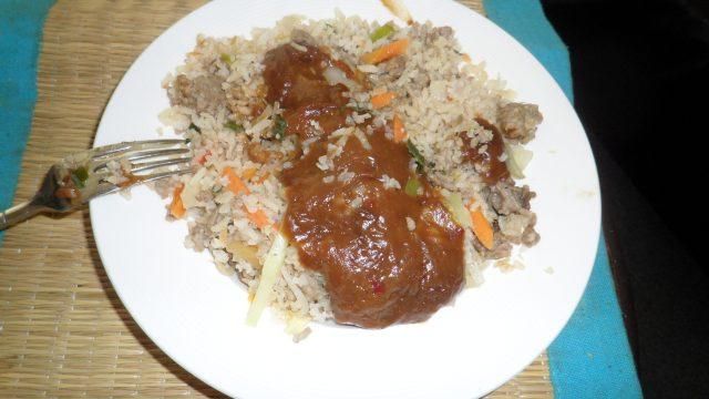 Nasi eten